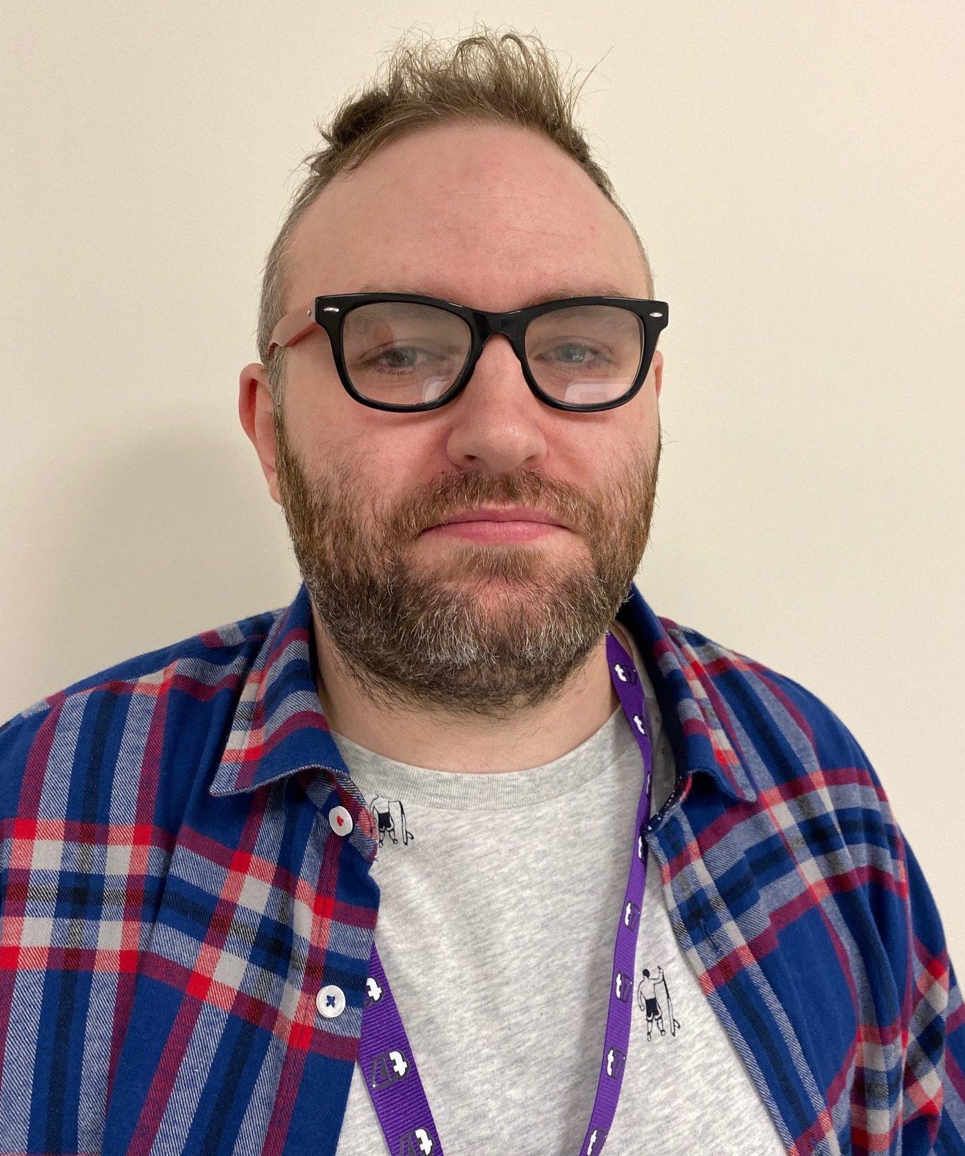 A photo of the presenter Ross Fairhurst